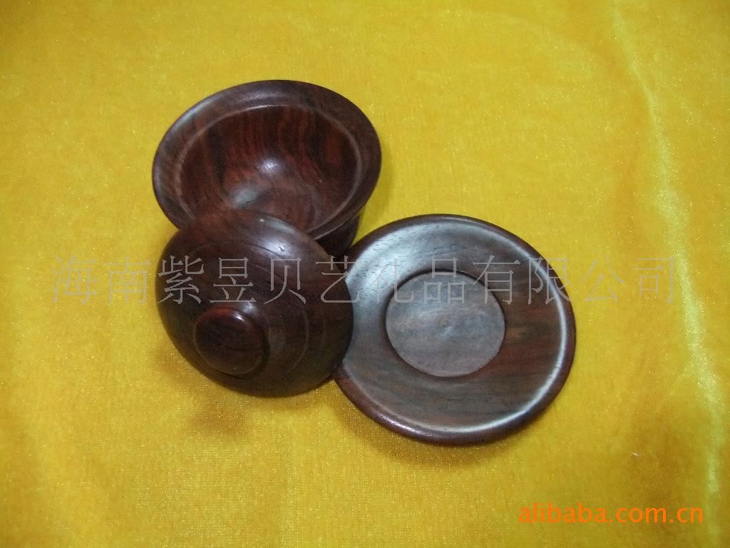 厂价批发优质花梨木茶杯