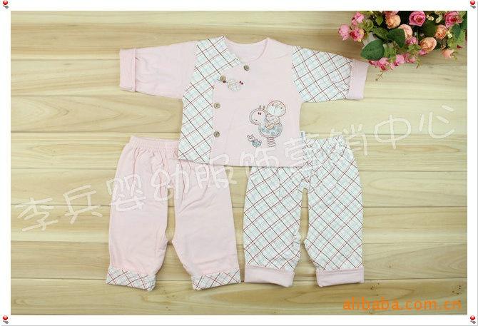 专柜正品品牌童装 英格贝贝双层宝宝三件套09629图片