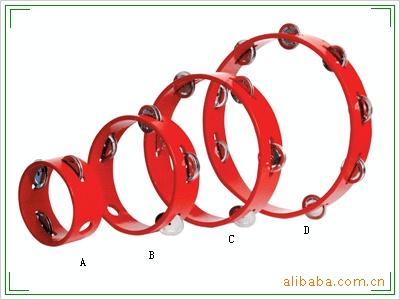 奥尔夫乐器 打击乐器 供应奥尔夫乐器打击乐器花铃圈YX66 阿里巴巴