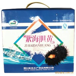 海产品招商批发 海味零食 1000g紫海胆黄
