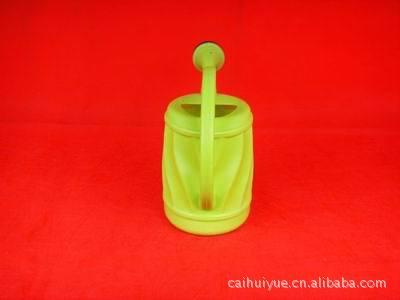 塑料PE吹塑洒水壶,手提洒水壶,南瓜形状洒水壶,圆形可爱洒水壶