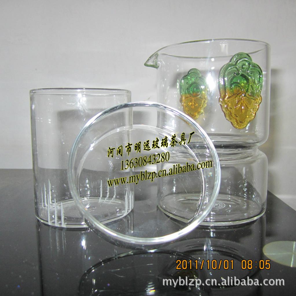 生产批发特价花茶壶玻璃双耳泡茶器茶壶绿茶红茶泡