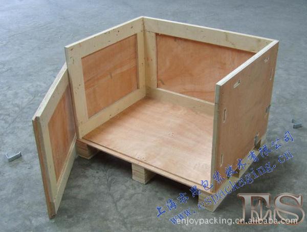 可拆�卡扣木箱、木质包装箱、周转箱
