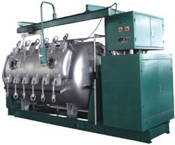 供应ZJLK2400S双变频高速节能高温高压卷染机 印染整机械