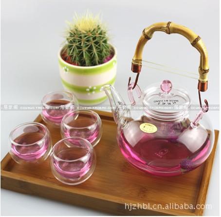 耐热玻璃茶具适用于炮制红茶绿茶大红袍等