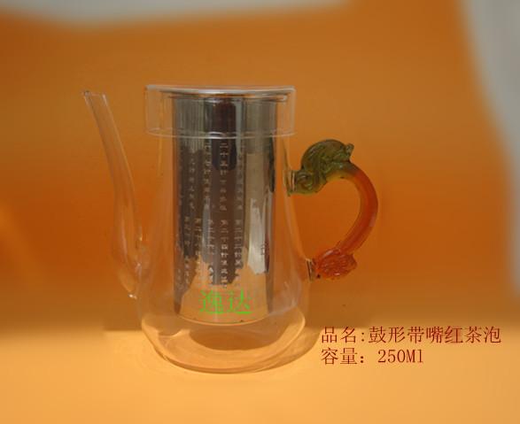 可包破损,304#不锈钢内杯红茶泡,可定制图案,LOGO