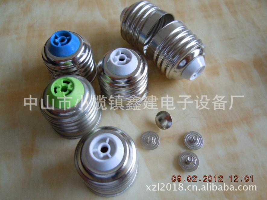 供应j节能灯组装设备、免焊灯头 灯头机 灯头压盖机压图