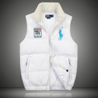 2012 autumn fashion down vest Men thickening outerwear vest mp-19
