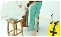 Women's  elegant slim all-match suit jacket blazer,Jacket,outwear,Free shipping