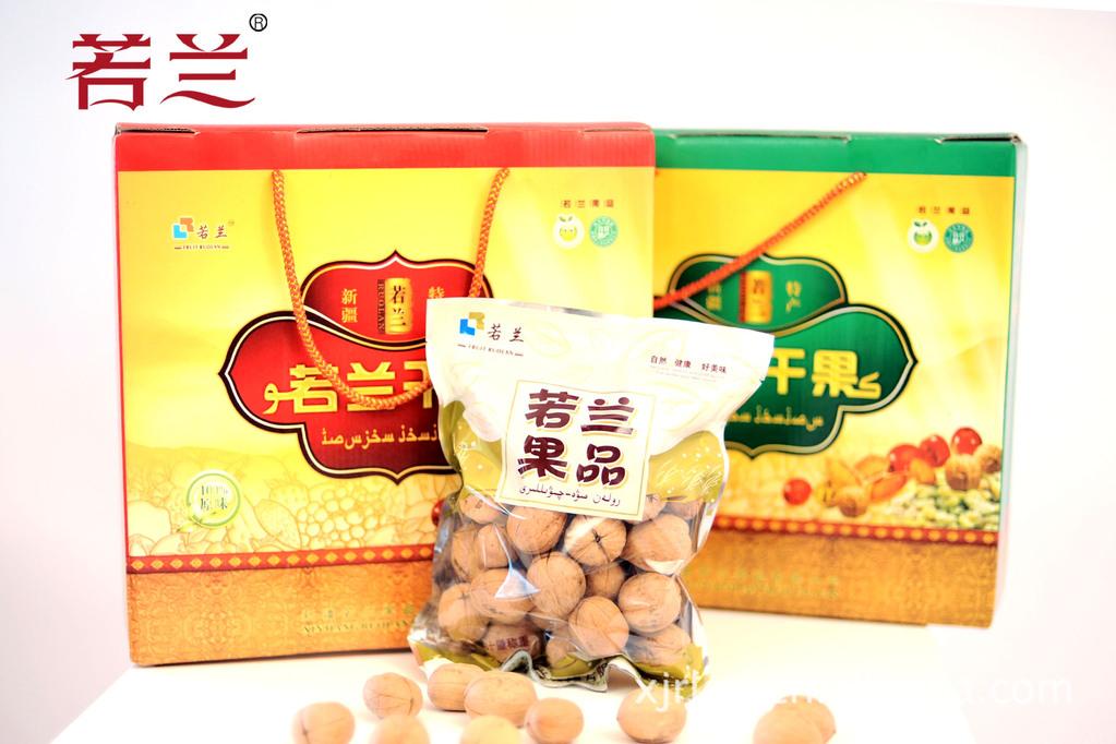新疆特产 若兰果品 纸皮核桃 批发零售(图)