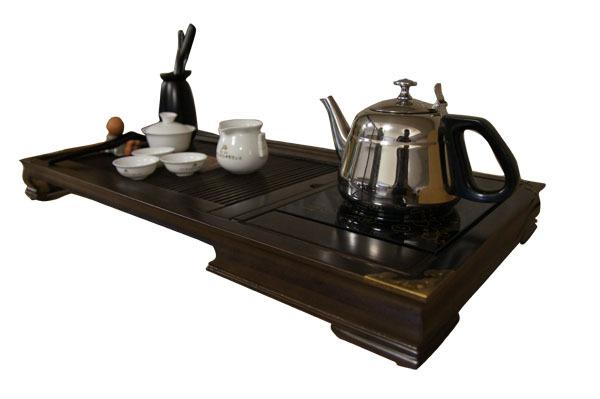旭进茗茶/木制茶具    茶师傅2和1     送茶壶   不宝库茶具