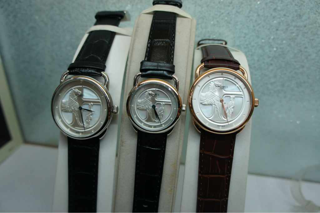 爱马仕石英.时尚手表.情侣表.皮带手表图片