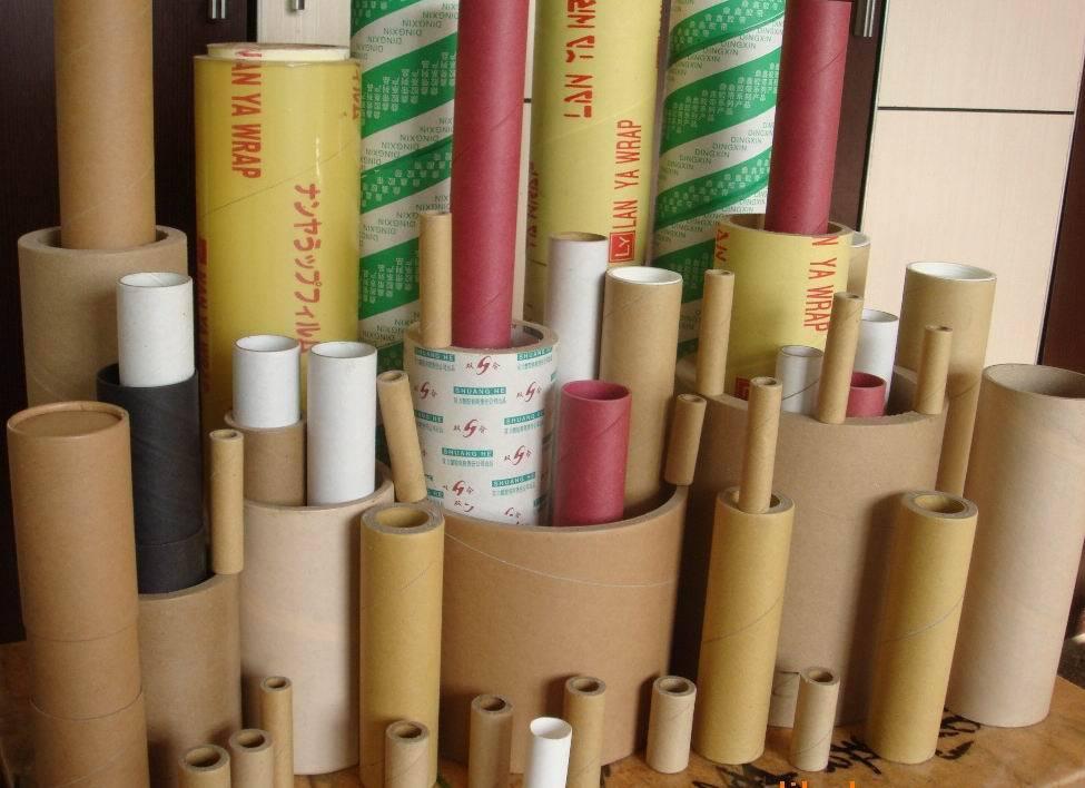 方紙管、異型紙管