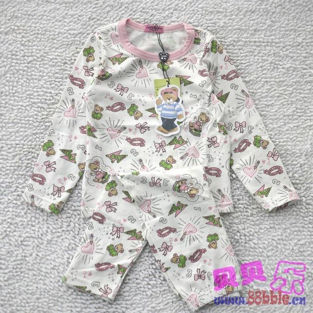 居服套装内衣 小熊睡衣套装批发 -价格,厂家,图片,童内衣内裤,图片