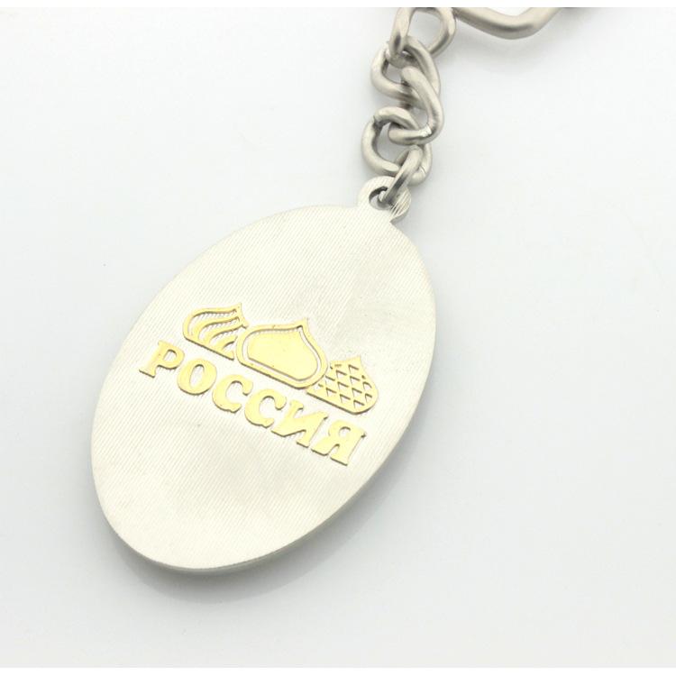 俄罗斯建筑物旅游纪念品礼品金属钥匙扣 钥匙圈厂家定做 - 义乌市丽丰工艺品 - 义乌市丽丰工艺品
