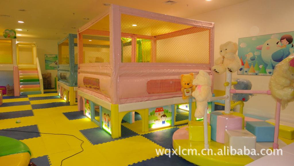 厂家直销大型 室内儿童淘气堡 室内淘气堡 软体游乐设备