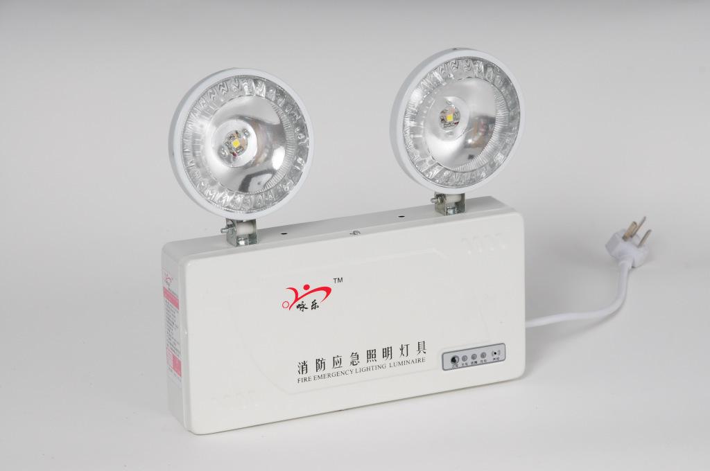 应急指示灯具 厂家直供国标消防应急照明灯具 双头灯 疏散...