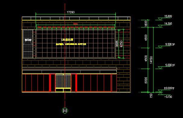 led显示屏钢结构设计 cad钢结构设计 电子显示屏钢结构画图