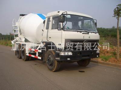 港粤HSD5250GJB混凝土搅拌运输车L340东风康明斯发动机