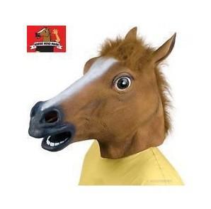 万圣节化妆舞会马头用品派队用品表演用品-人头马面具365克