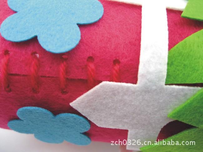 批发布艺笔筒 儿童立体手工制作DIY 早教幼儿园创意粘贴宝宝玩具图