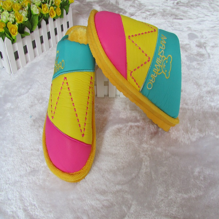 新款 防雨布情侣家居鞋 保暖棉拖鞋 居家拖鞋 厂家直销