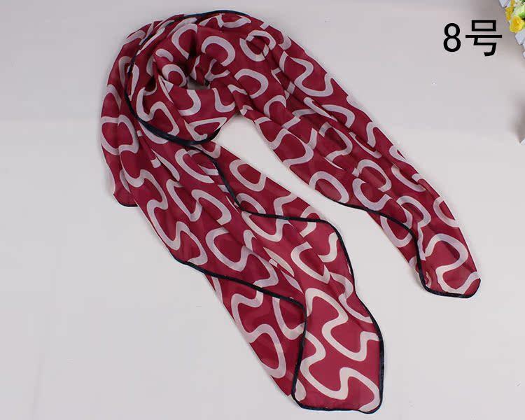 丝巾围脖的系法图解