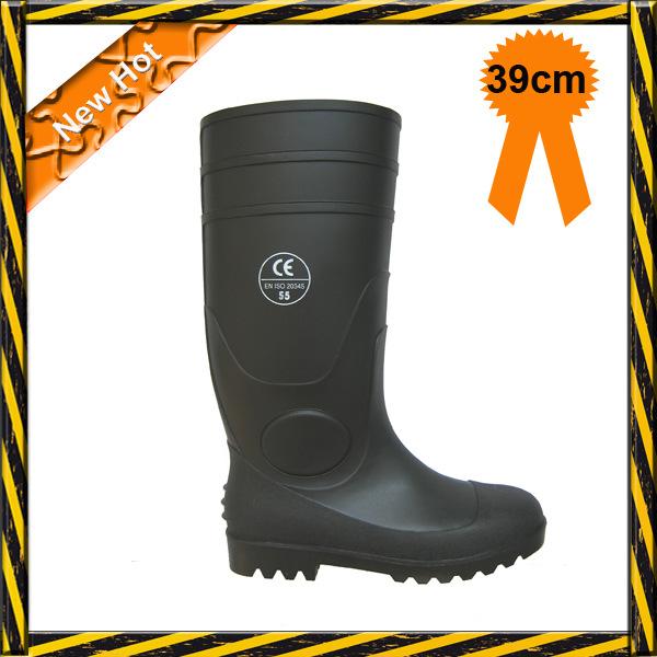 【专业品质】供应PVC防护安全雨靴,耐酸碱钢头雨靴