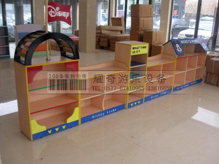 儿童木工书架造型
