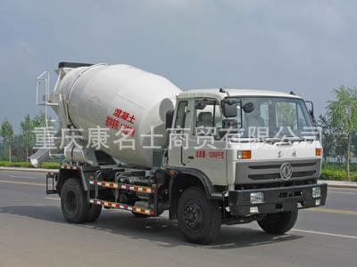 程力威CLW5120GJB3混凝土搅拌运输车ISDe185东风康明斯发动机
