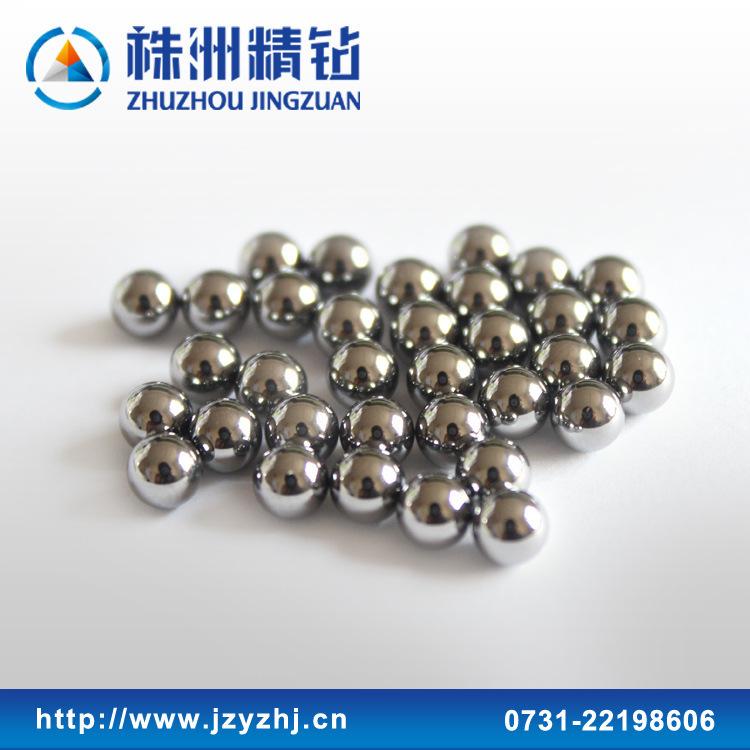 现货供应YG6钨钢球,直径16mm,硬质合金滚珠,良好的耐磨性