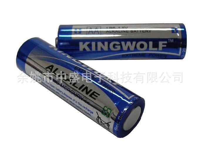 供应多种碱性电池 5号碱性可充电池