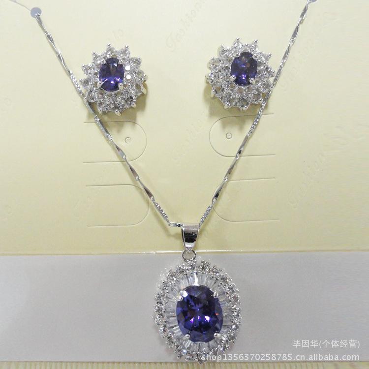 厂家直销韩国首饰套装 专业定做仿真饰品套装 项链套装
