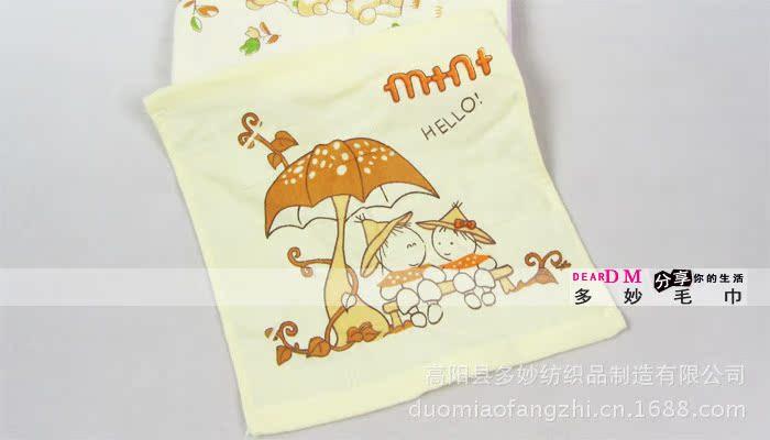 纯棉纱布毛巾-2