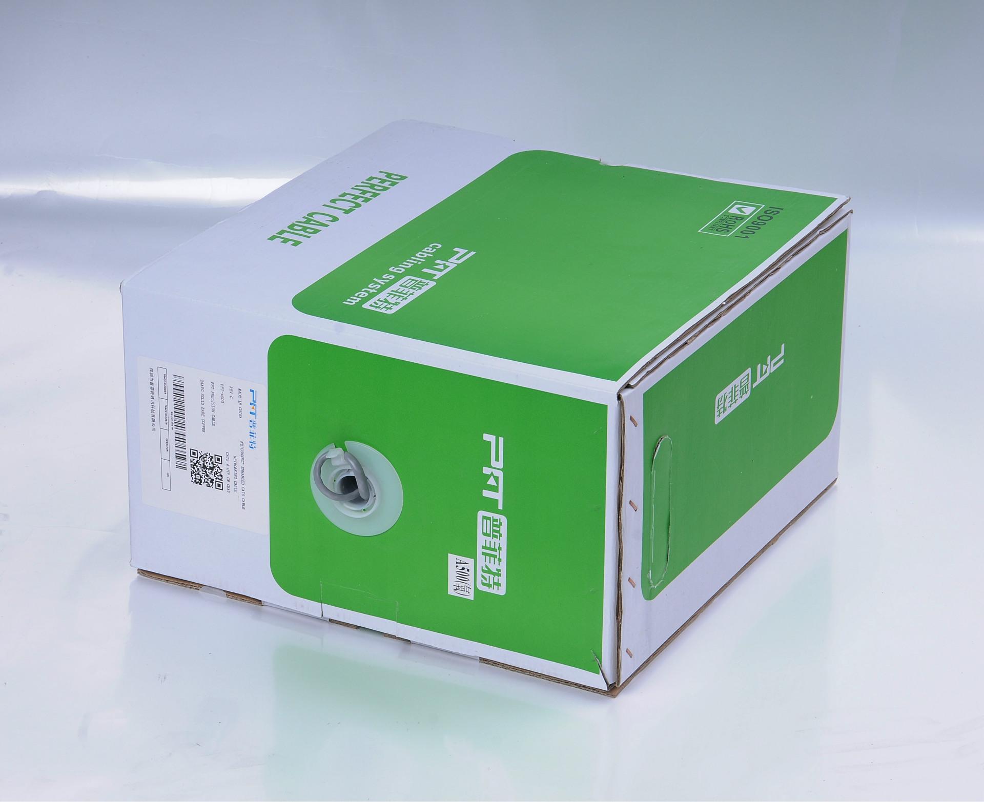 普菲特网线厂家批发超五类0.51无氧铜非屏蔽网线图片_7