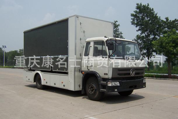 载通BZT5120XWT舞台车ISDe160东风康明斯发动机