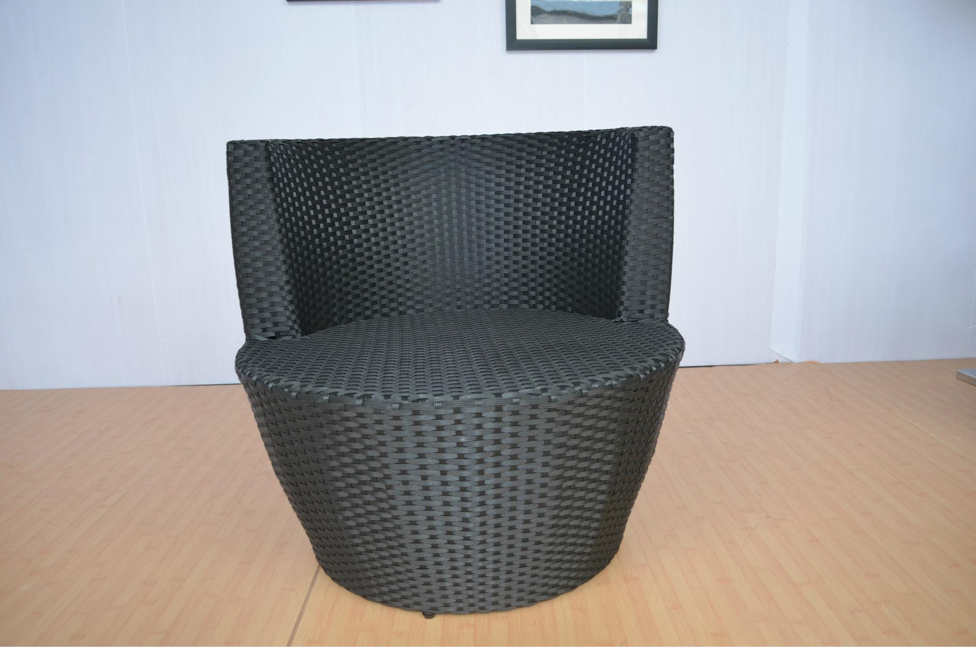 藤椅子茶几休闲露台咖啡厅创意酒吧阳台桌椅组合套件藤编户