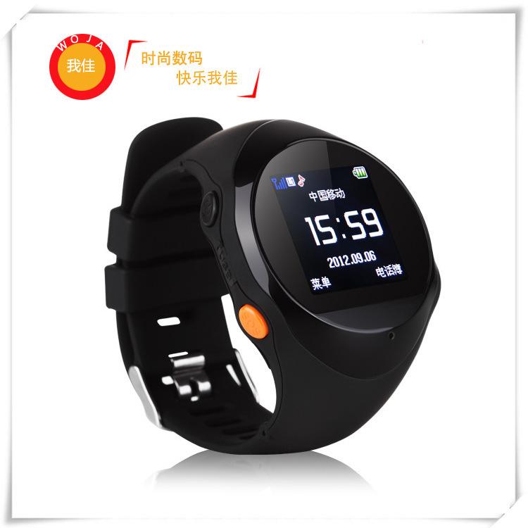 我佳WOJA2014最新款GPS智能手表 学生用智能穿戴设备