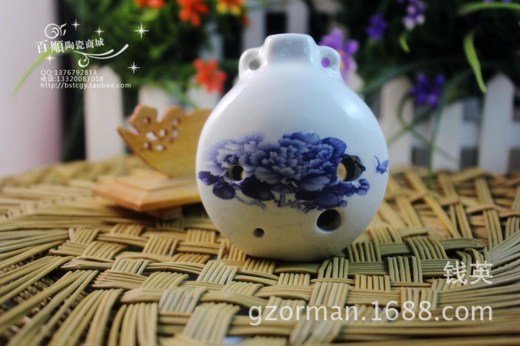 【六孔陶笛】【笛子】【陶笛乐器】-价格,厂家,图片,陶瓷工艺品