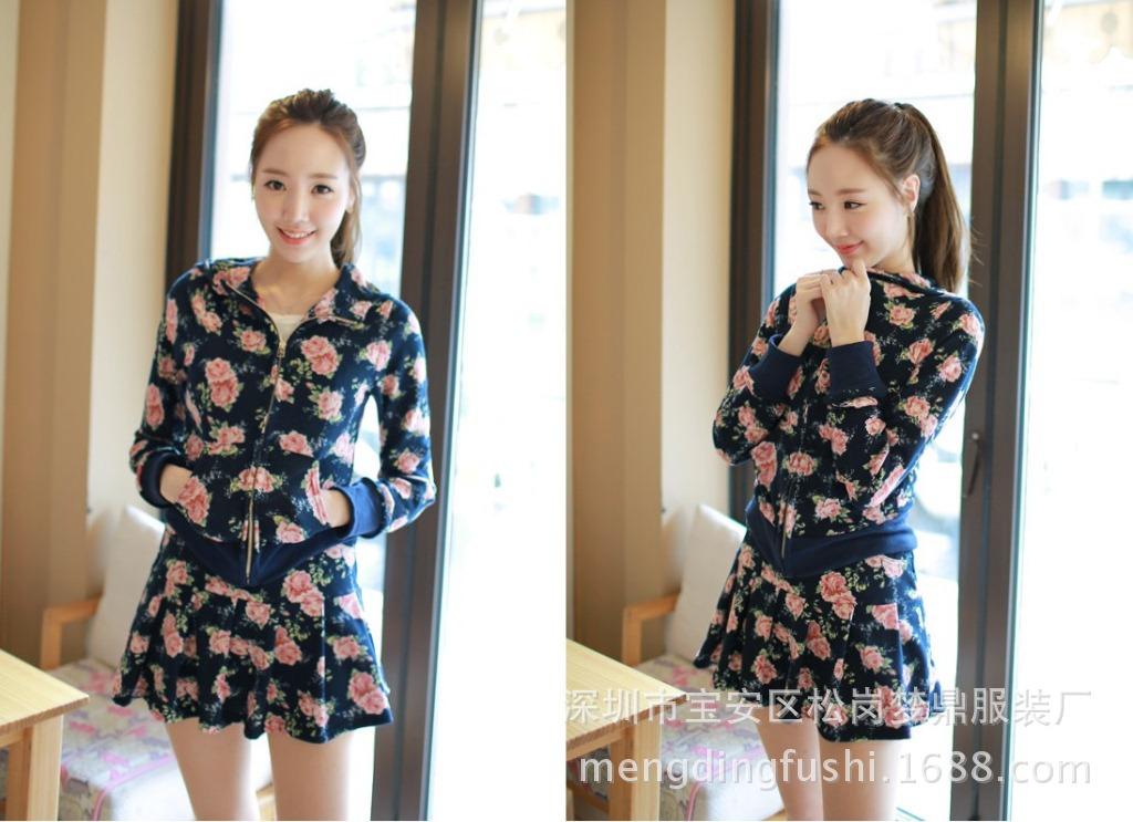 韩版时尚大码女装代理一件代发8806