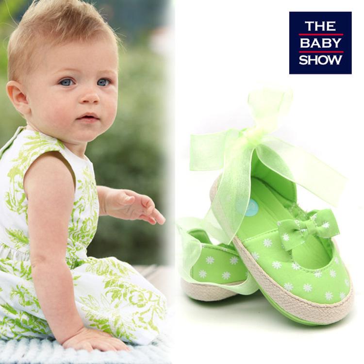 春秋款学步鞋 公主款女宝婴儿鞋 软胶底宝宝鞋 工厂直销 可贴牌