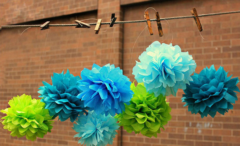 Best 6 15cm 10 25cm colorful tissue paper flowers ball craft paper 15310181891482027950 mightylinksfo
