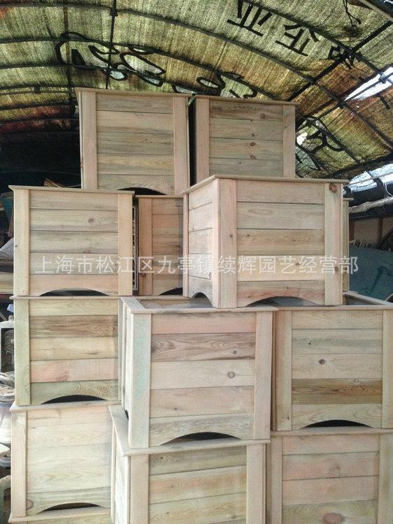 防腐木花箱 长期供应 园艺防腐木花箱 落地式防腐木花箱定做 阿里巴巴
