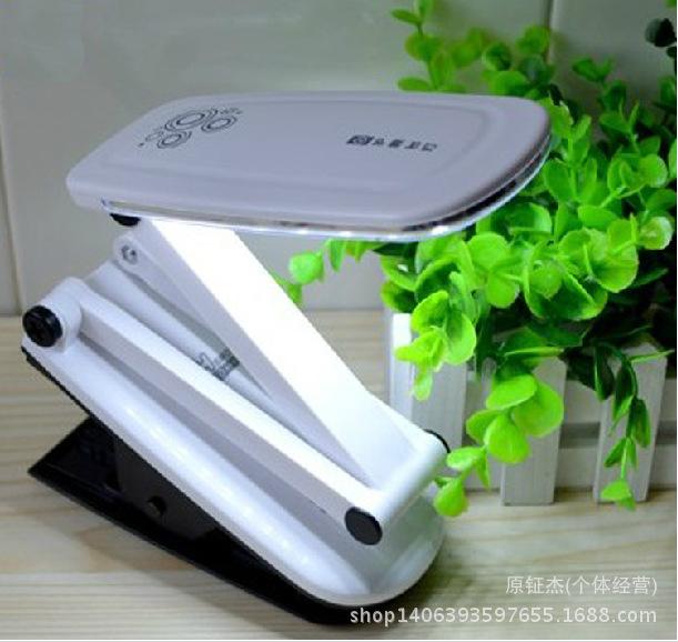 批发新品康铭6667C LED充电夹子台灯阅读学习护眼礼品淘宝爆款印