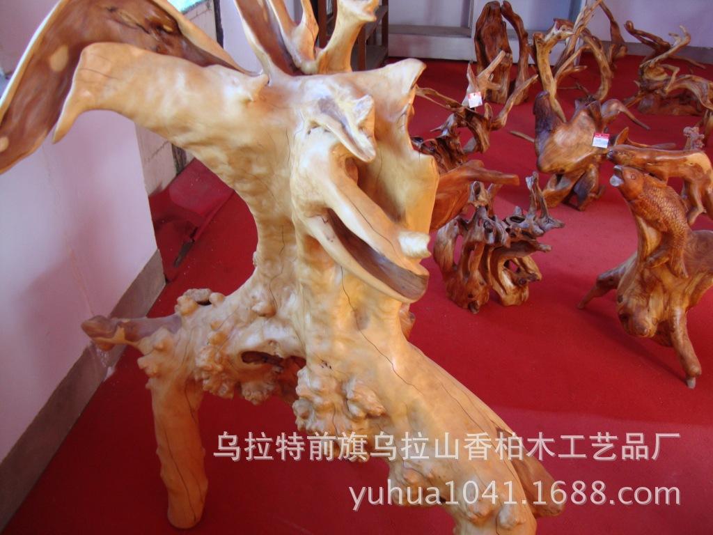 柏木根雕 专业根雕 专业生产柏木根雕 阿里巴巴