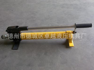 生产厂家质量稳定价格低 超高压手动液压泵 图片_7