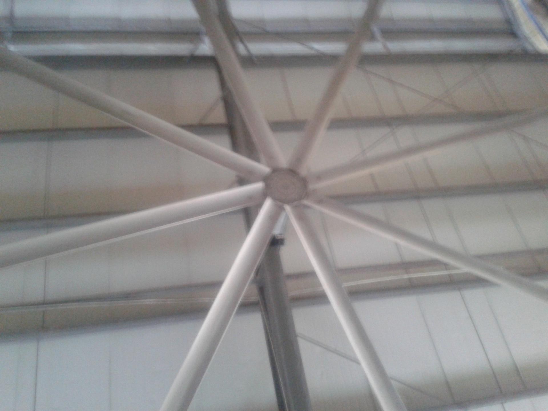 工业吊扇 工业大型吊扇 8叶7米2直径厂房通风工业大型吊扇 阿里巴巴