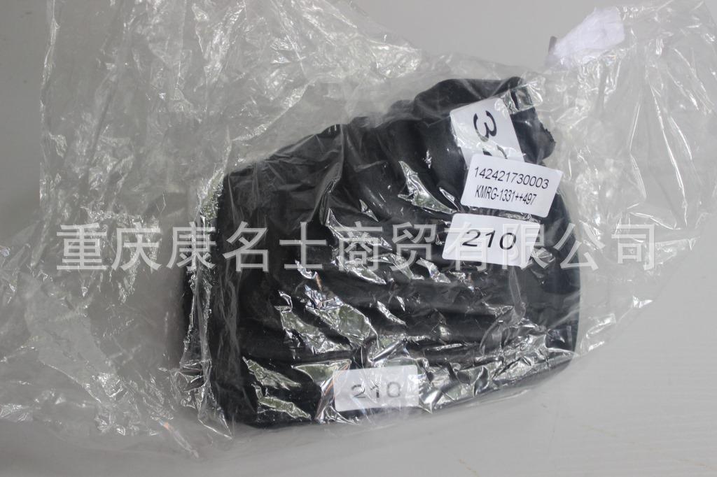 硅胶管灰色KMRG-1331++497-欧曼波纹管1424217300003-耐温胶管,黑色钢丝无凸缘无锥内径32XH190X-1