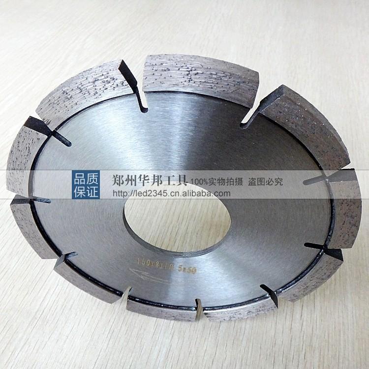 金刚石开槽片 混凝土开槽专用激光焊接金刚石锯片价格 中国供应商