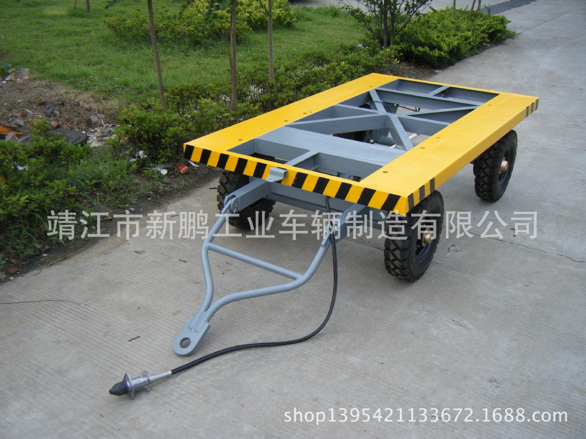 电磁刹车平板车